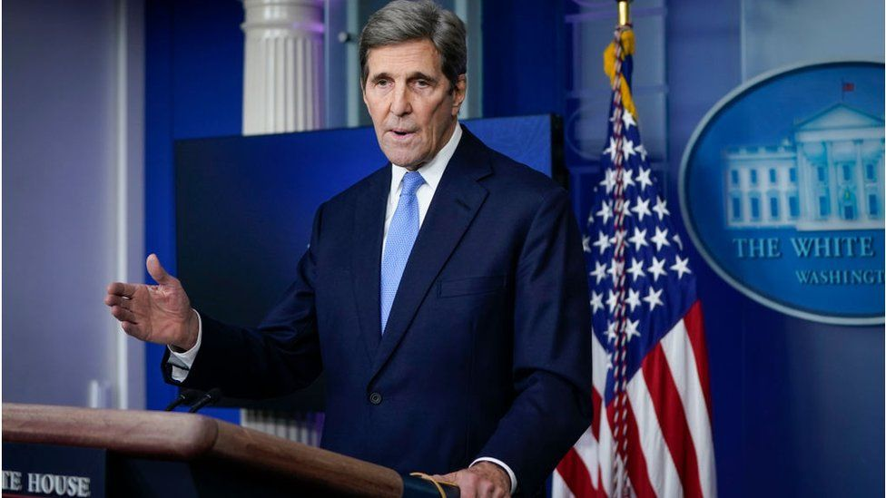 White House climate envoy John Kerry helped negotiate the Paris climate deal
