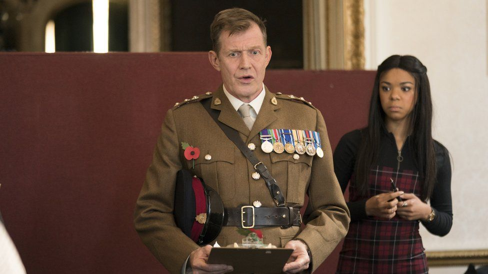 Jason Flemyng in Military Wives