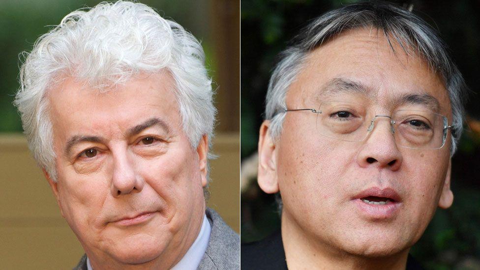Ken Follett and Kazuo Ishiguro