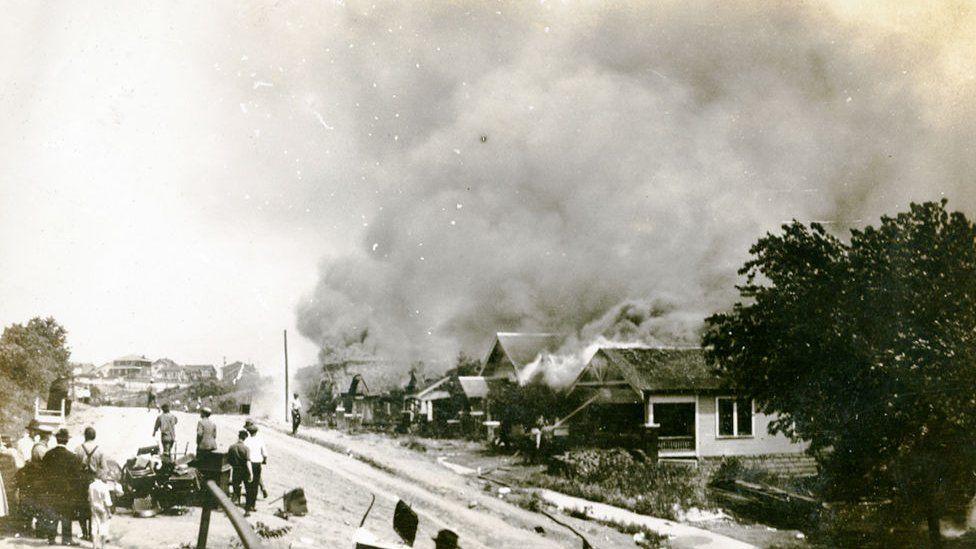 Tulsa race riot June 1921
