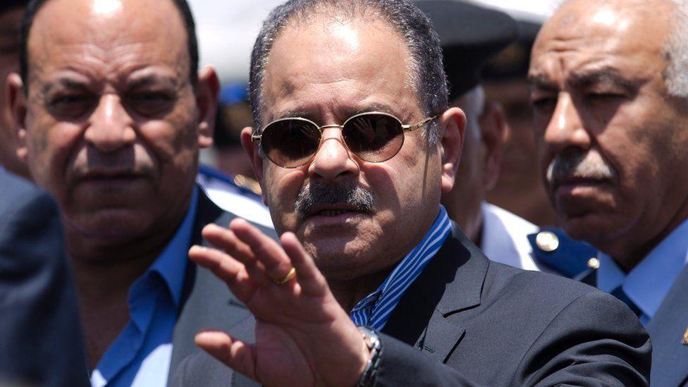 Interior Minister Magdy Abdel Ghaffar