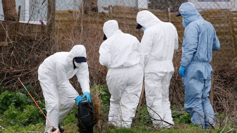 Police officer in custody as human remains found in Sarah Everard case