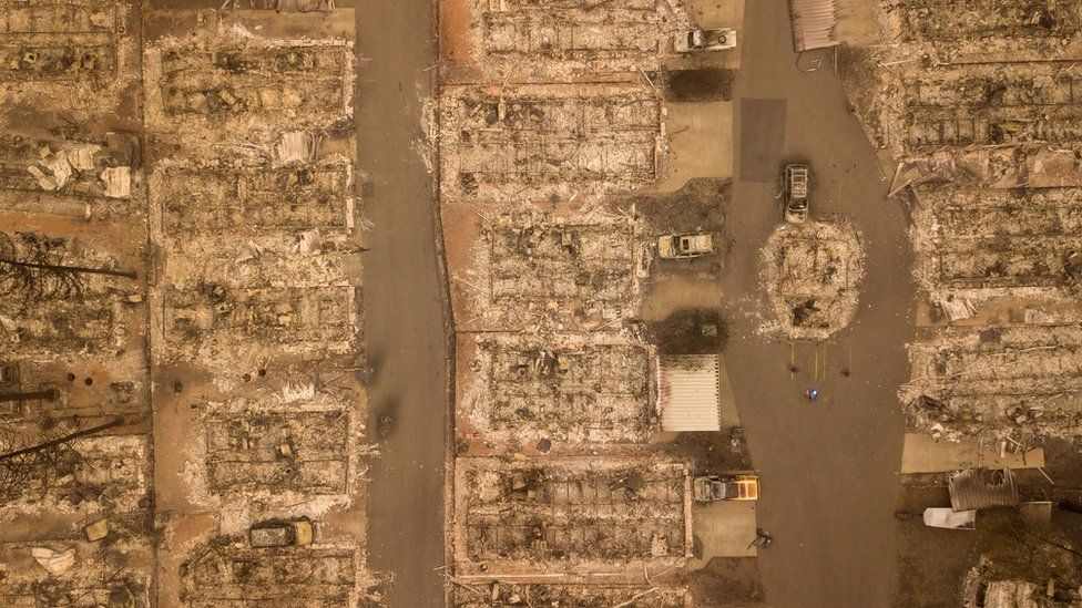 California wildfires: The day Paradise burned down - BBC News