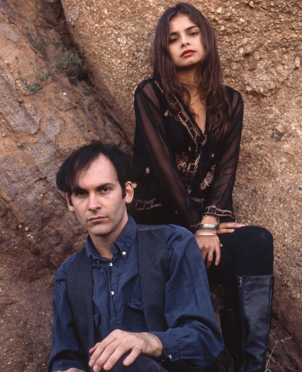 David Roback and Hope Sandoval of Mazzy Star