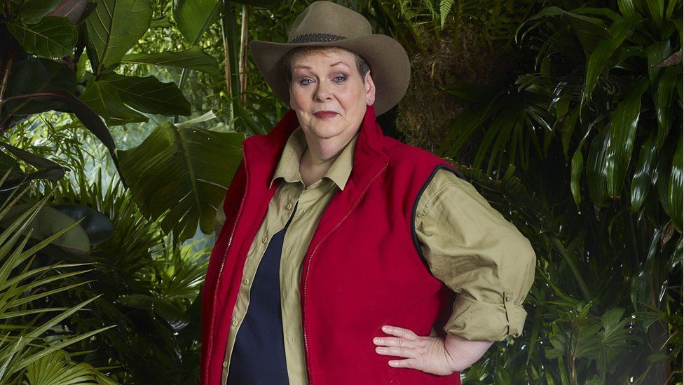 Anne Hegerty in I'm A Celebrity Get Me Out of Here