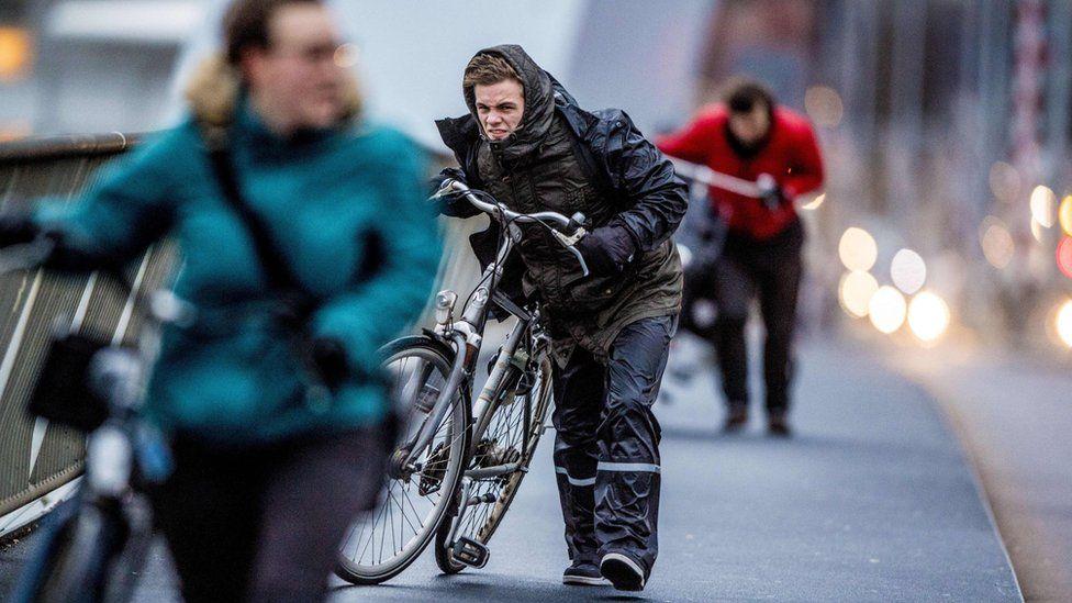 Rotterdam cyclists, 18 Jan 18