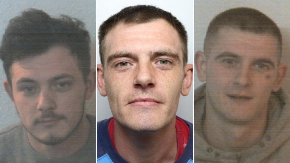 Christopher, Shane and Matthew Whiteley,