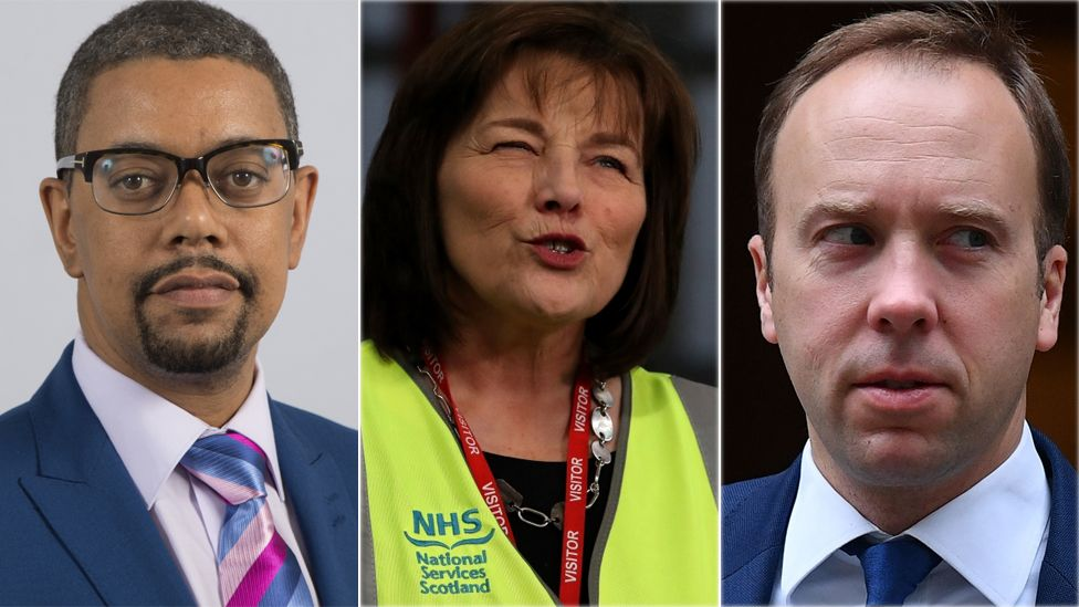 The three health ministers