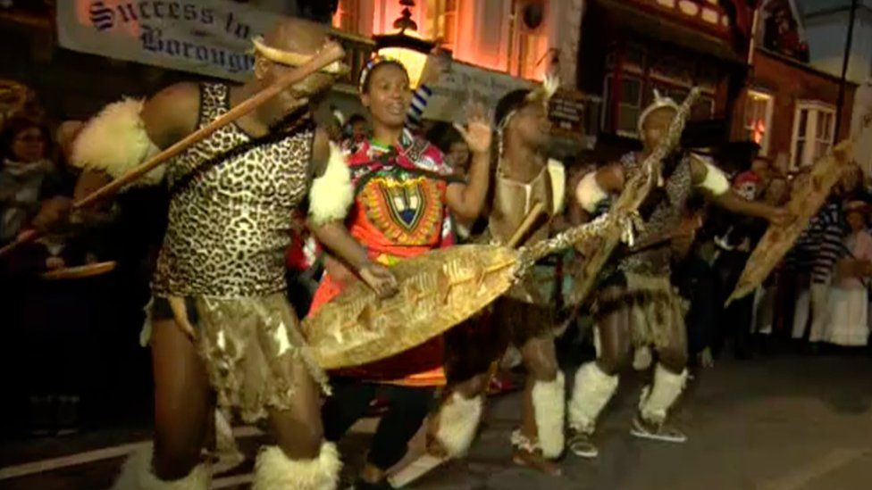 Zulu Tradition performing in Lewes