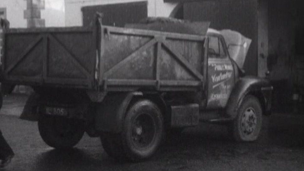 Truck used by the IRA