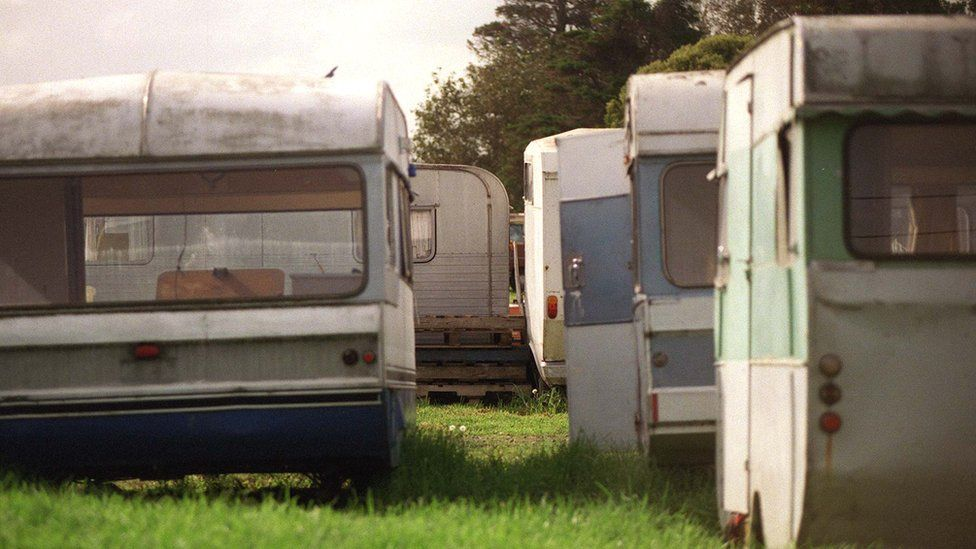 The Green Acres Caravan park in Mangere