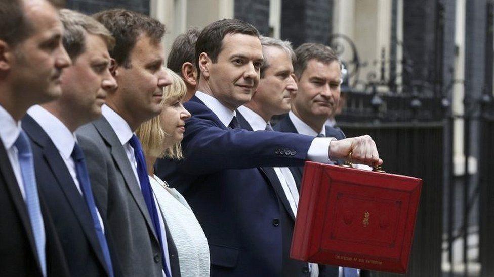 George Osborne, ahead of 2015 Budget