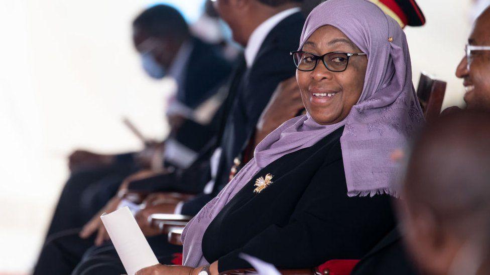 Samia Suluhu Hassan - Tanzania's new president challenges Covid denial thumbnail