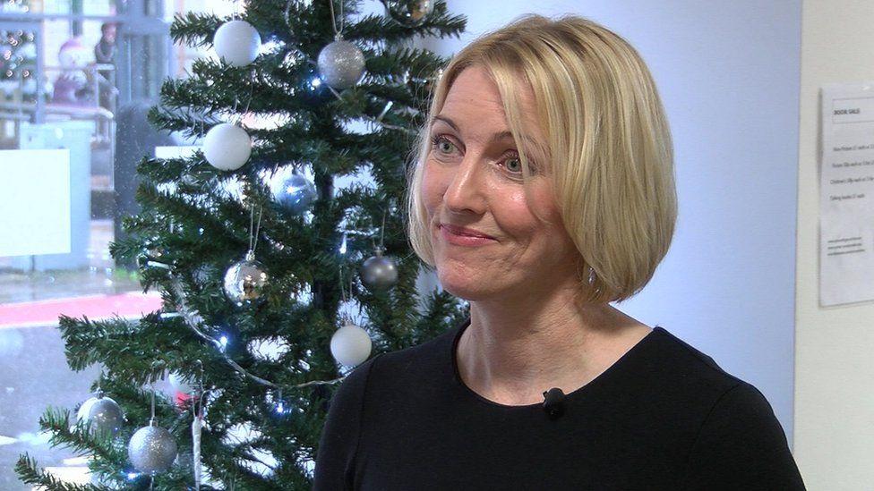 Mandy Macdonald, head of Plymouth Libraries