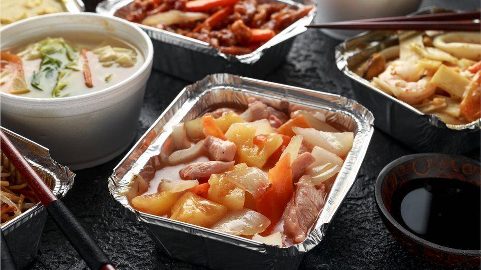 Chinese take-away food