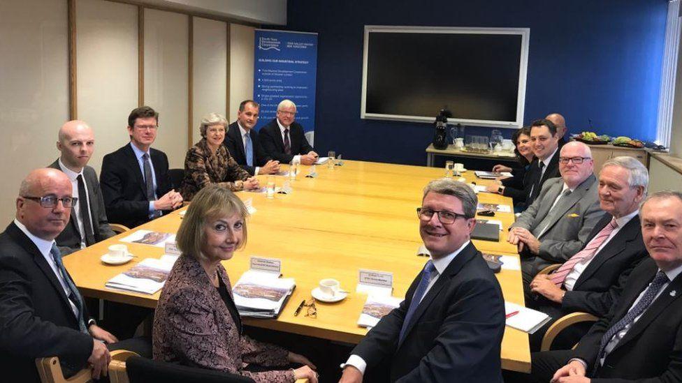 Prime Minister at regeneration meeting