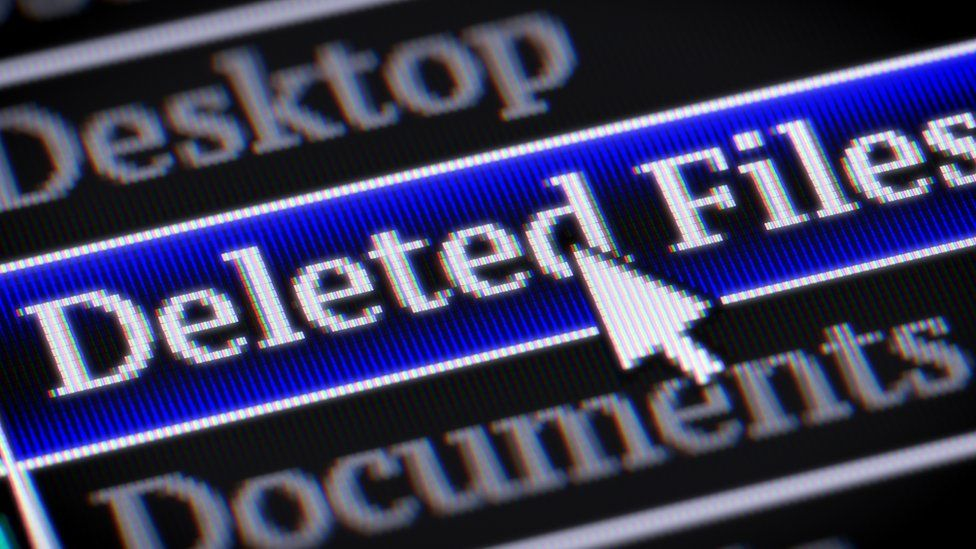 Deleted files