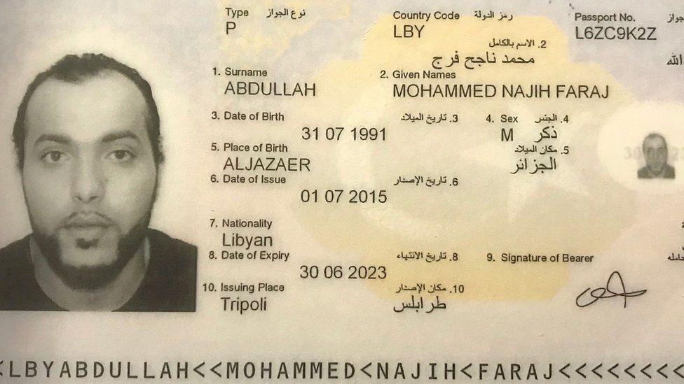 Mohammed Abdallah ID card