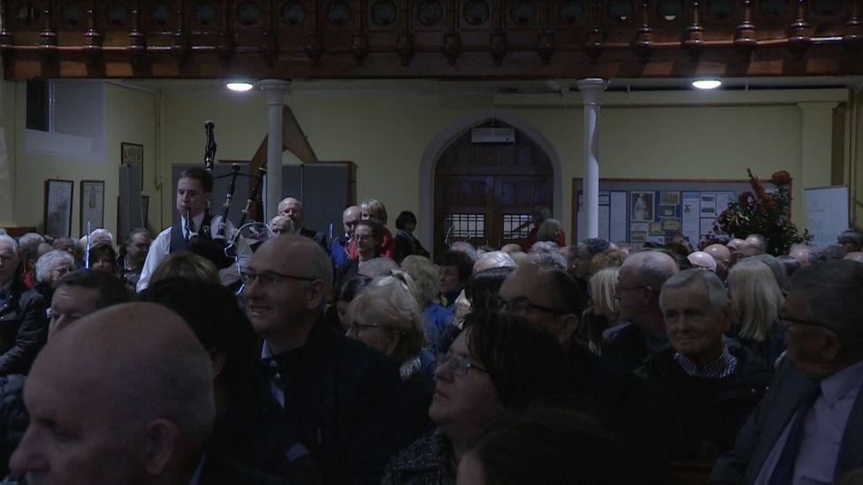 Remembrance event in Rostrevor