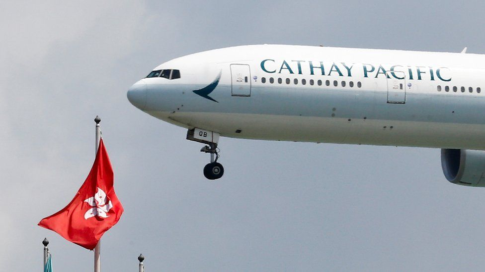 Hong Kong protests: Cathay Pacific staff speak of climate of fear