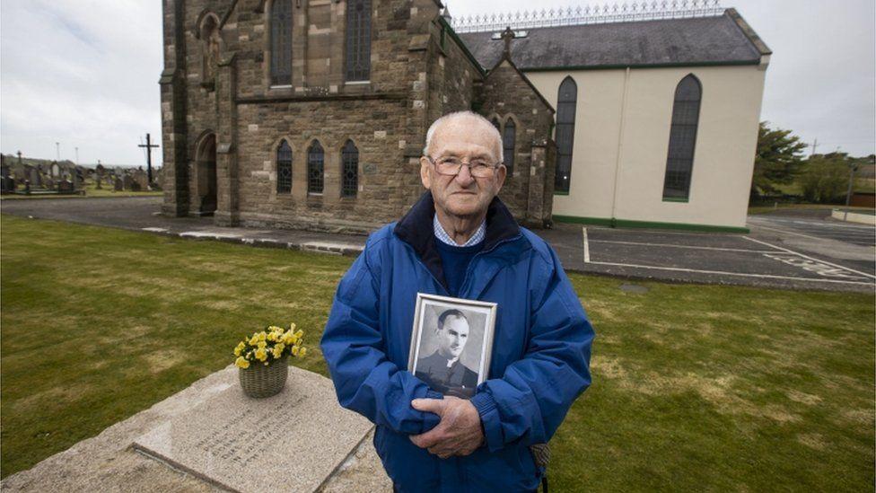 Patsy Mullan, brother of Father Hugh Mullan
