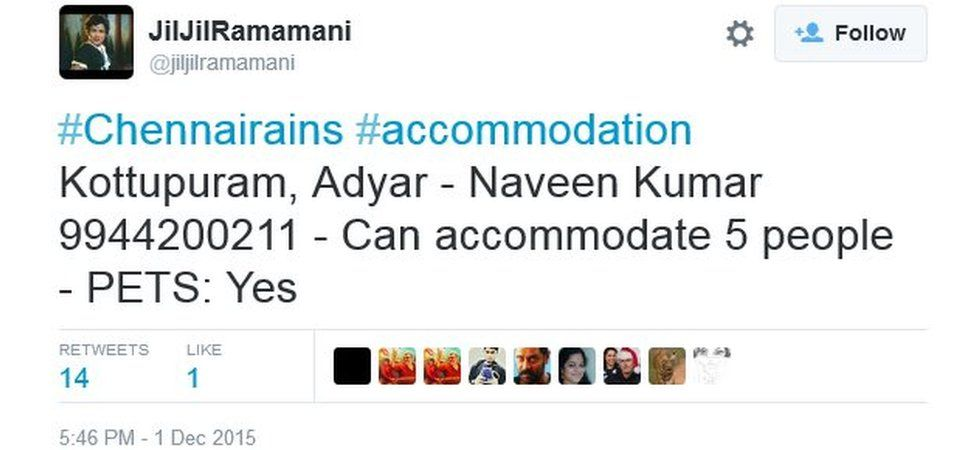 #Chennairains #accommodation Kottupuram, Adyar - Naveen Kumar 9944200211 - Can accommodate 5 people - PETS: Yes