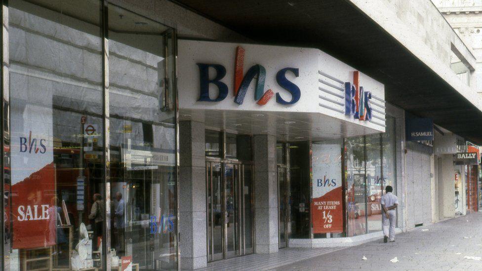 BHS in 1980s