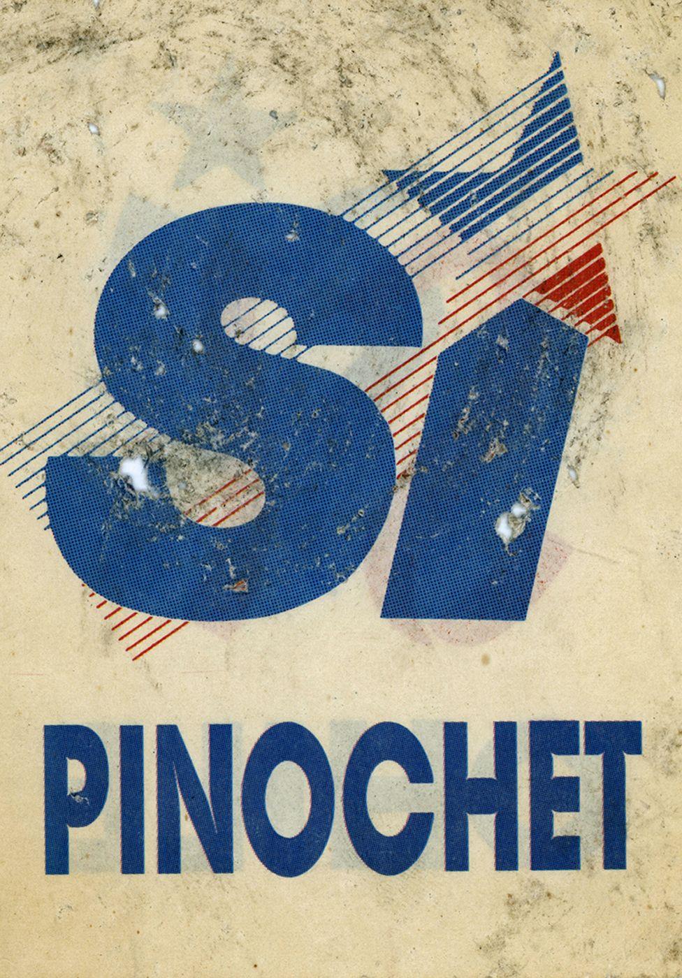 Panfleto del plebiscito en Chile