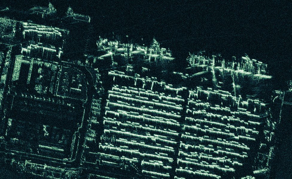 Iceye satellites return super-sharp radar images