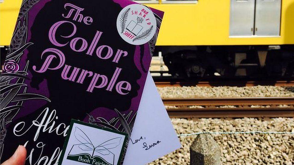 The Colour Purple left in Japan