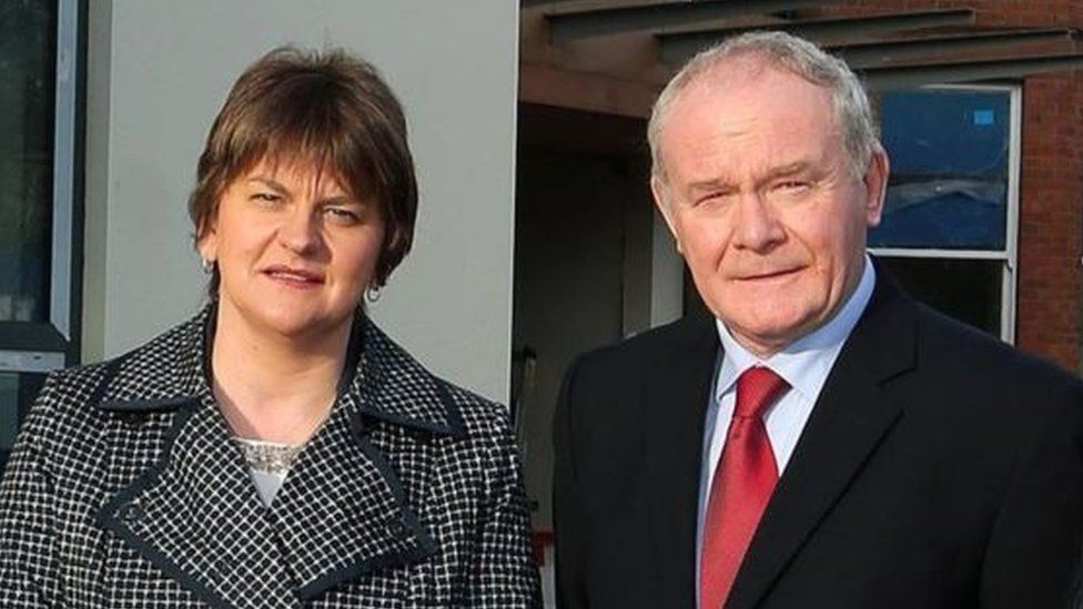Arlene Foster and Martin McGuinness are due to attend the meeting in Cardiff