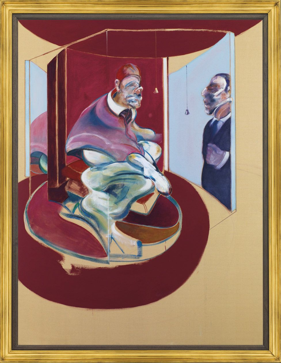 Francis Bacon - Study of Red Pope 1962, 2nd Version 1971