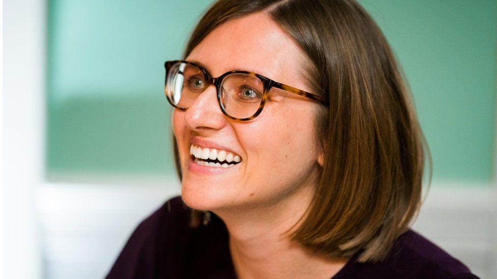 Kasia Swica, Minecraft's senior program manager, based in Seattle.