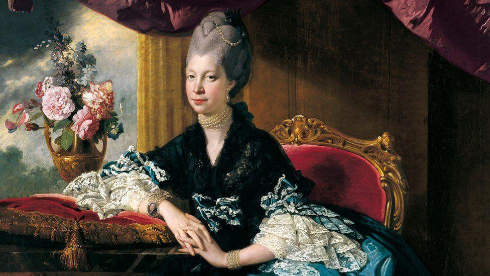 Portrait of Queen Charlotte by Johan Joseph Zoffany