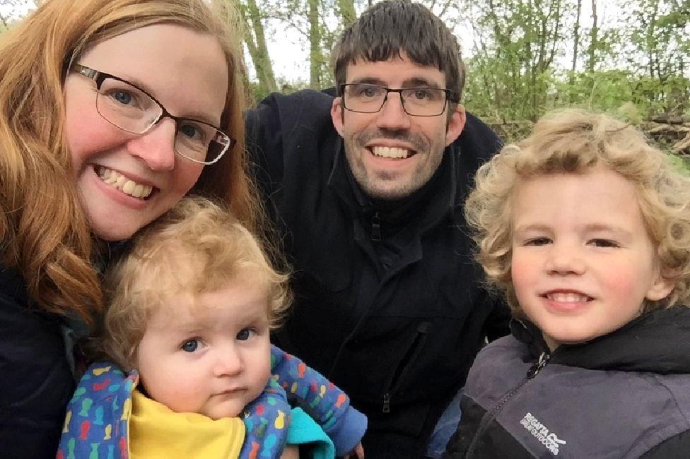 Liz and family