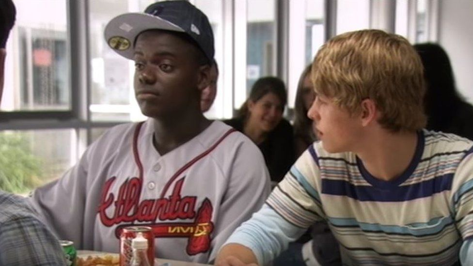 Daniel Kaluuya acting as Posh Kenneth in Skins