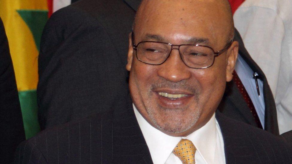 Suriname's President Desi Bouterse