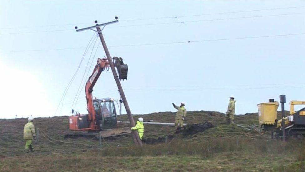 Repairs in Shetland