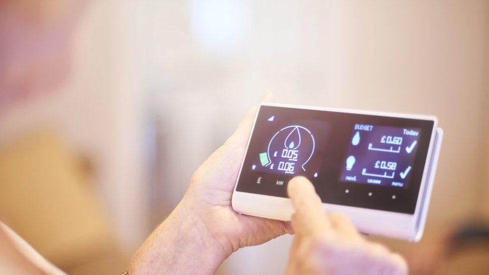 A smart meter in-home display