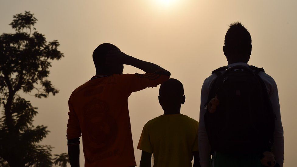 Three children who claim to be victims or witnesses of sex abuses on minors by peacekeepers in the Central African Republic