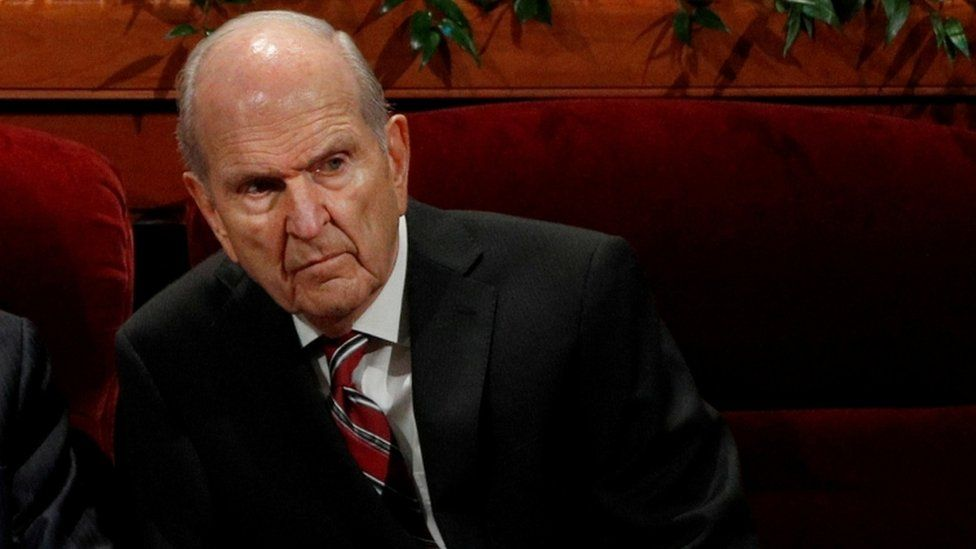 Russell M Nelson (file picture)