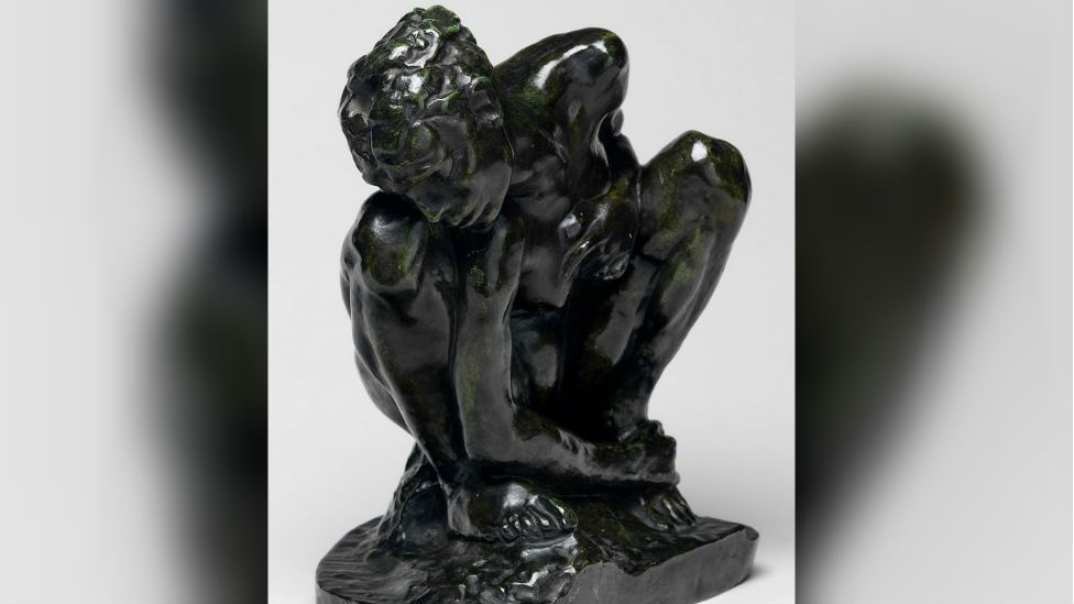 Crouching Woman by Auguste Rodin