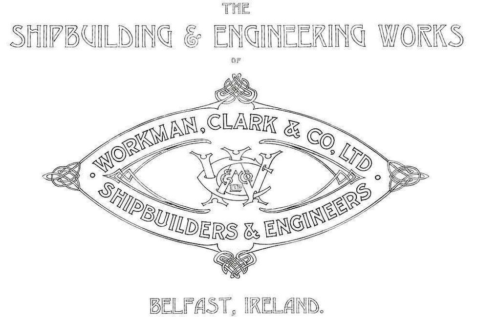 Workman and Clark insignia