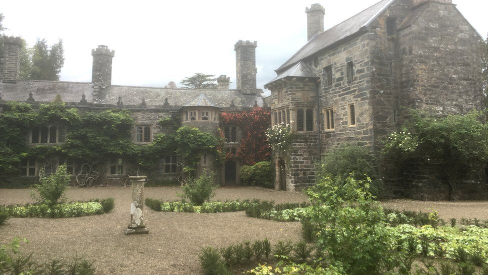 Gwydir Castle building exterior