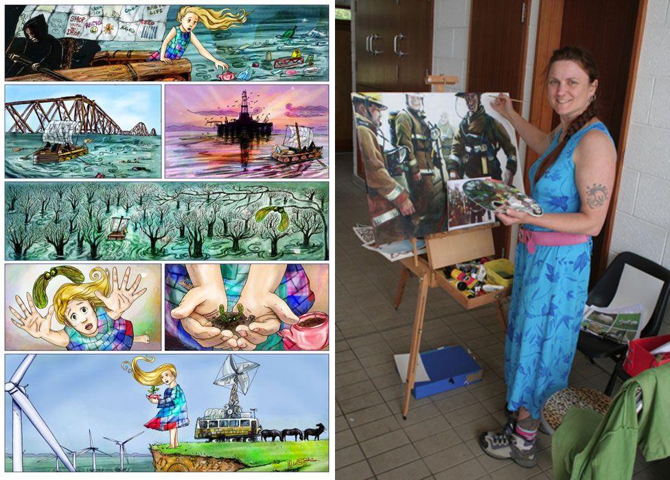 Artists Vicky Stonebridge
