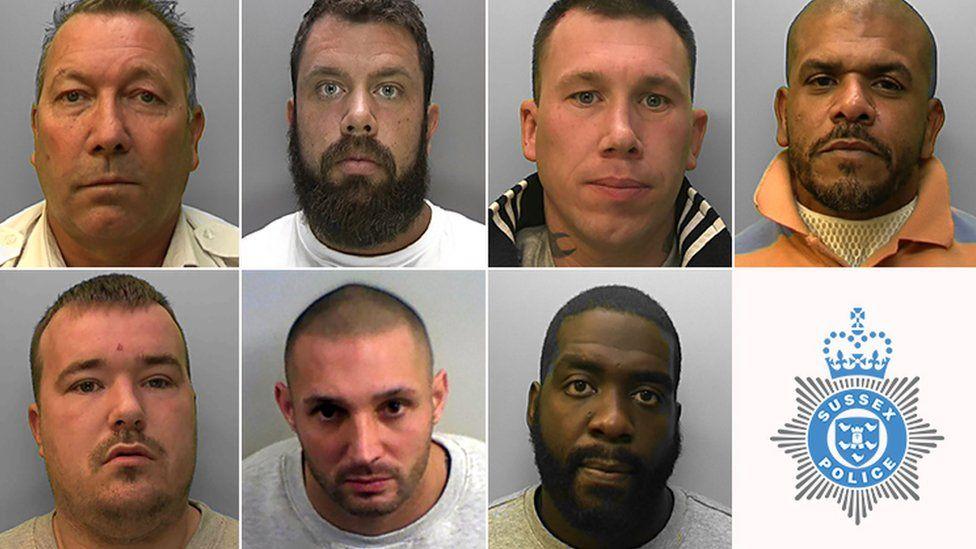 Top row L-R: Bridger, Taylor, Burdfield and Penton. Bottom row L-R: Sallis, Khalil and Henry