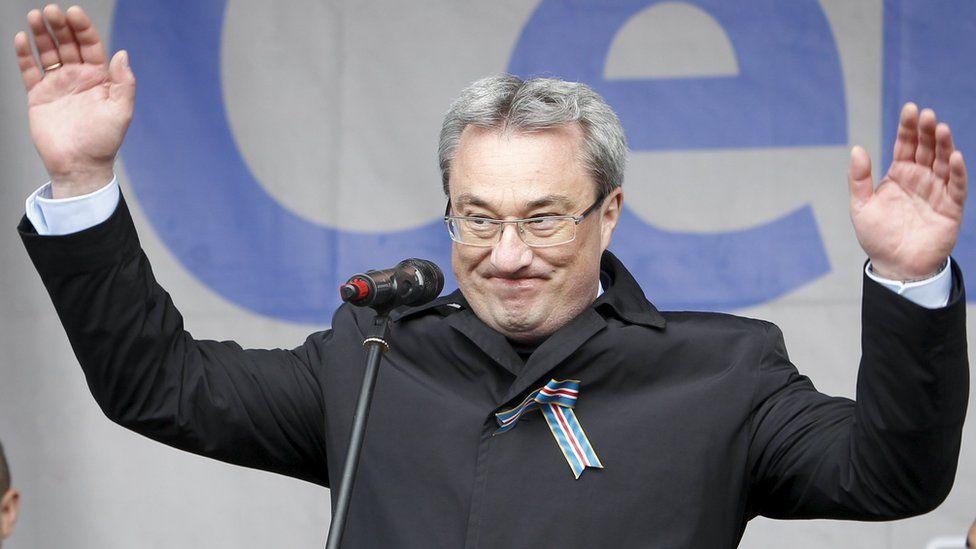 Komi Governor Vyacheslav Gayzer - file pic
