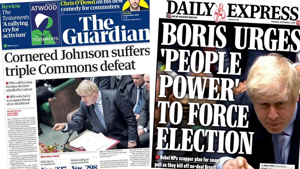 News Daily: Brexit wrangles continue and hurricane