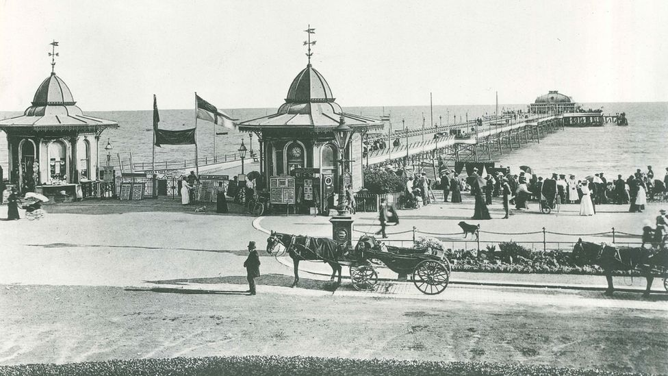 Worthing Pier in the 1890s