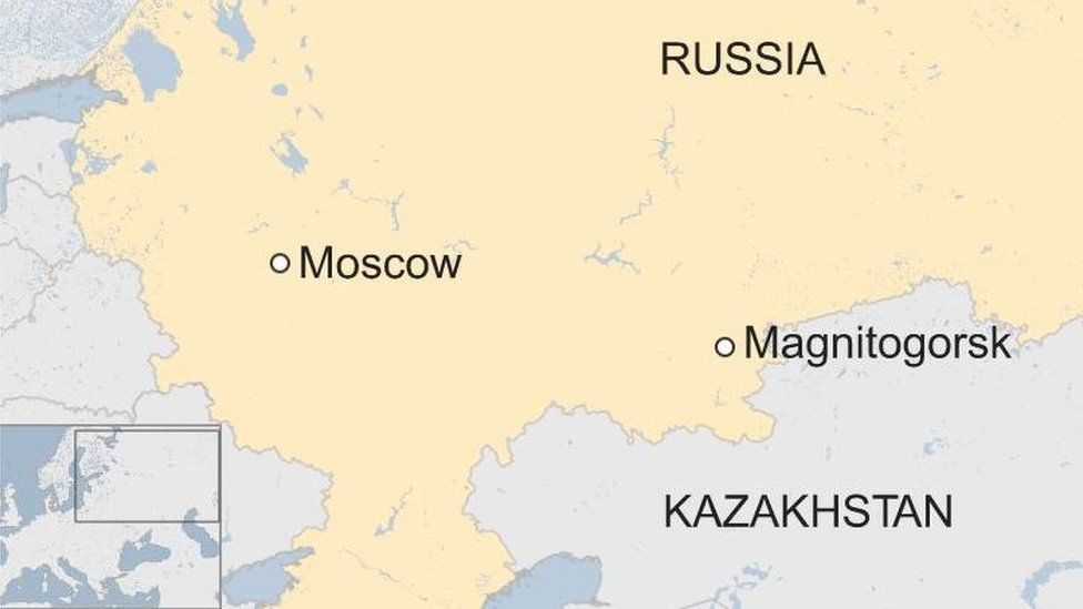 Magnitogorsk blast: Boy found alive in rubble flown to Moscow - BBC News